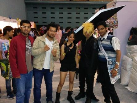 Comic Con India :D